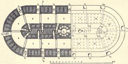 Rectangular Hoffmann kiln detailed diagram