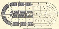 Rectangular Hoffmann kiln detailed diagram