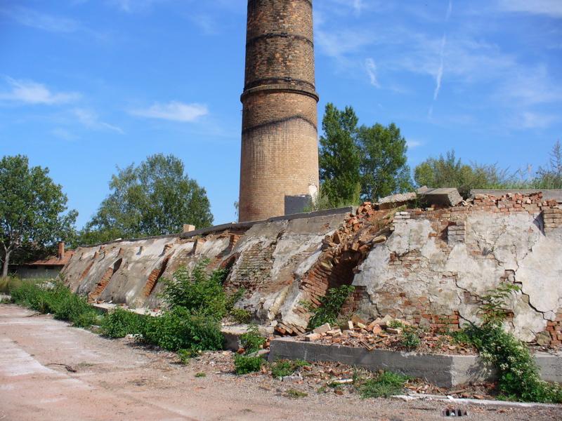 Hoffmann kiln in decay by schlot.at
