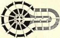 Plan enlarged hoffmann kiln