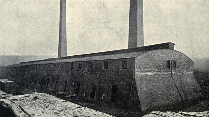 Hoffmann oven met 40 kamers
