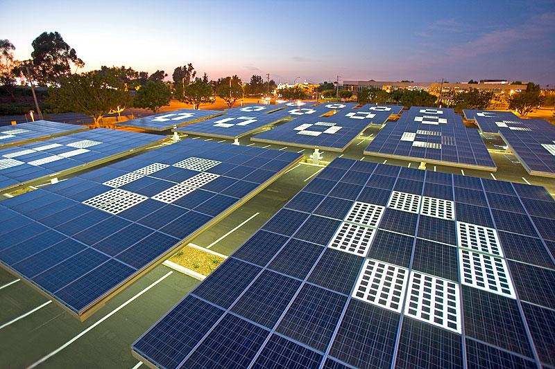 Zonnebos hoofdkantoor Kyocera san diego 4 copyright envision solar