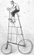 Eiffel tower bicycle