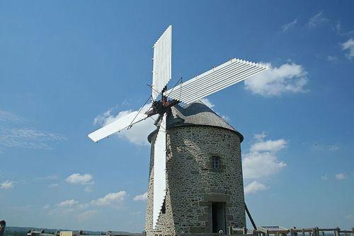 Berton gevlucht windmolen
