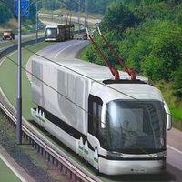 Trolleybussen en trolleytrucks
