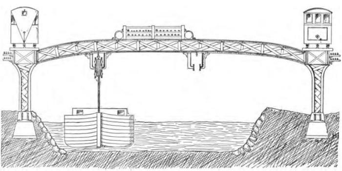 Trolleyboats and railway