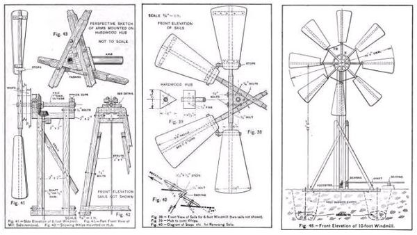 build windmill plans