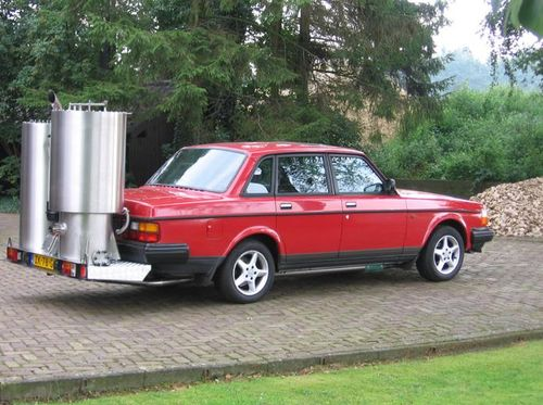 Volvo op houtgas