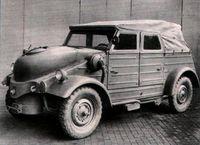 VW 82 op houtgas