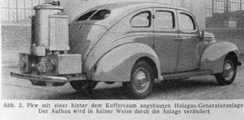 Houtgasauto WO II