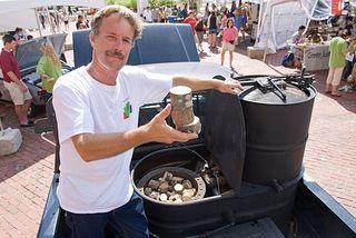 Dave nichols woodgas car