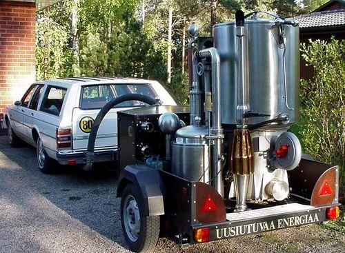 Woodgas car mikkonen
