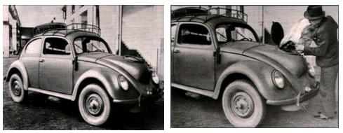 VW beetle woodgas