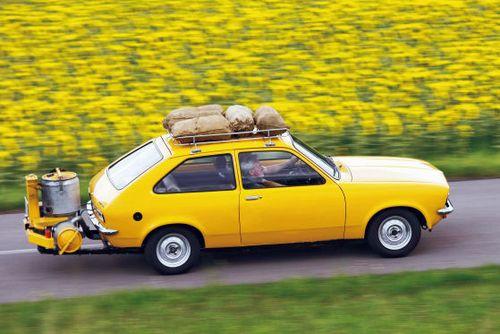Opel kadett woodgas