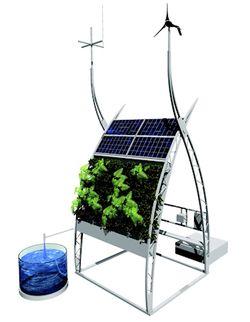 Hightech verticale boerderij