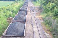 Trein met steenkool