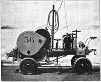 Electric mule charleroi 1901