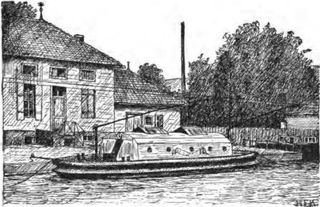 Bourgogne canal trolleyboat