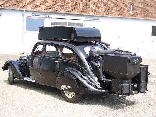 Peugeot houtgas