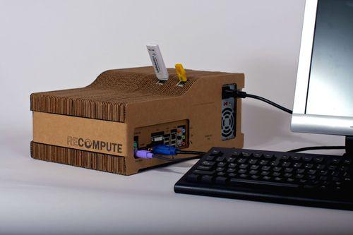 Kartonnen computer 2
