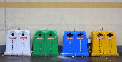 Recyclage containers