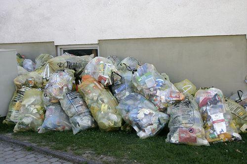 Recyclage zakken