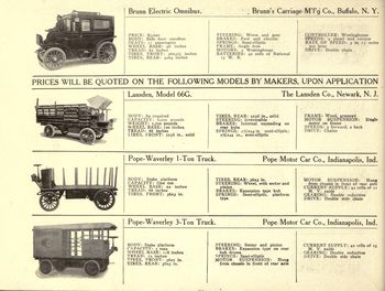 Electric trucks 12
