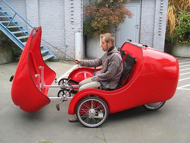 Recumbent tricycle 5