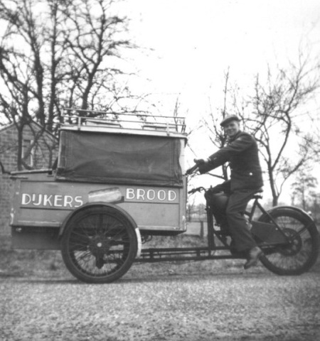 Cargo bike bakery