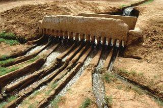 Irrigatie traditioneel