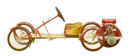 Oude cyclecar