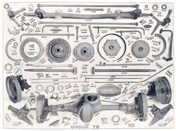 Rambler price list rear axle