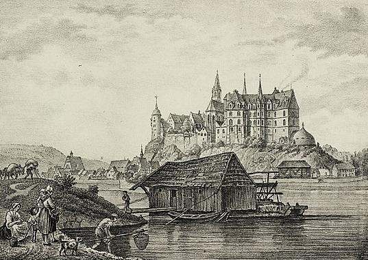 German ship mill 1840