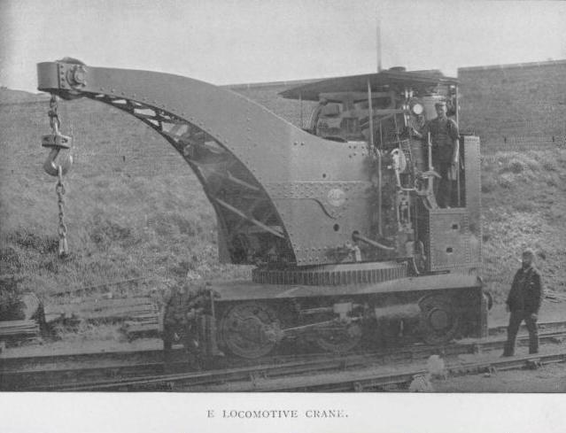 Crane locomotive 2