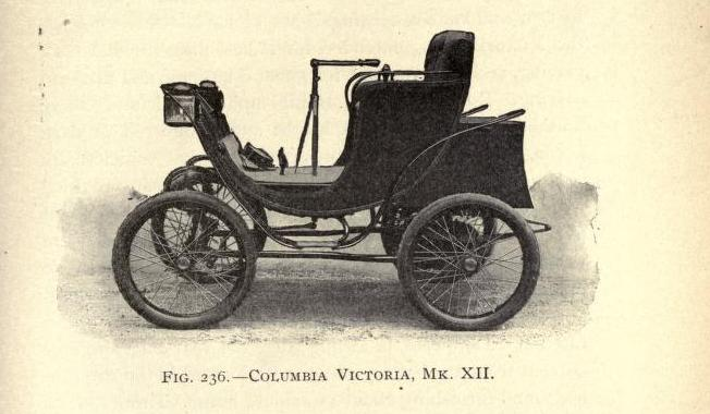 Columbia Victoria 7 Daumon Automobiles Of The American Electric Vehicle