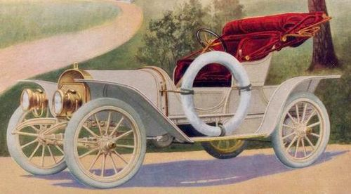 Babcock electric roadster 1909