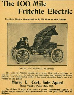 The 100  mile fritchl electric poster