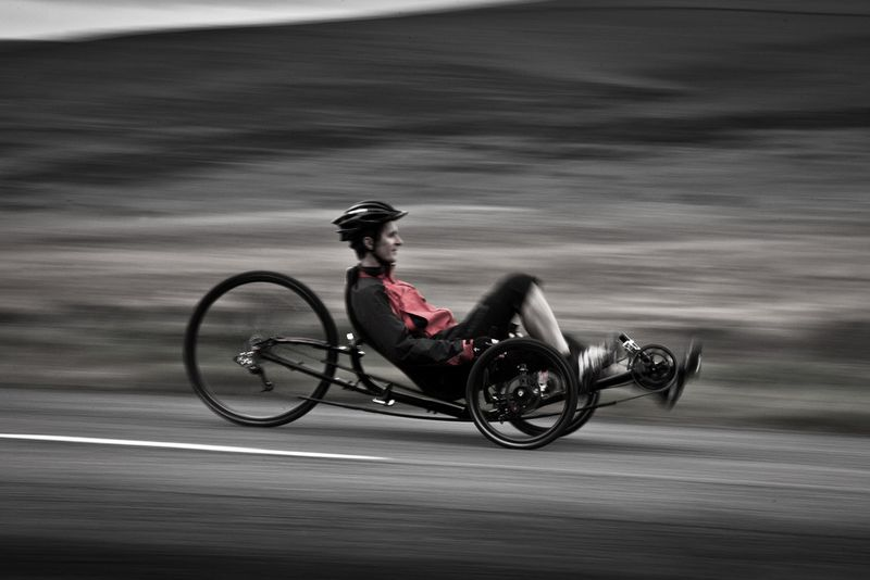 Recumbent tricycle 10