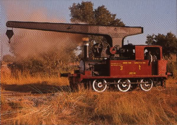 Crane locomotive india