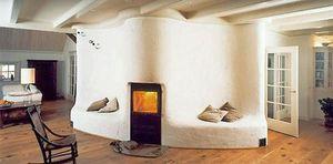 Tegelkachels en warmtemuren