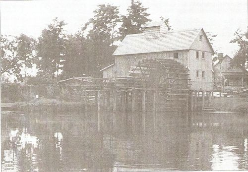Ship mill converted to fixed mill