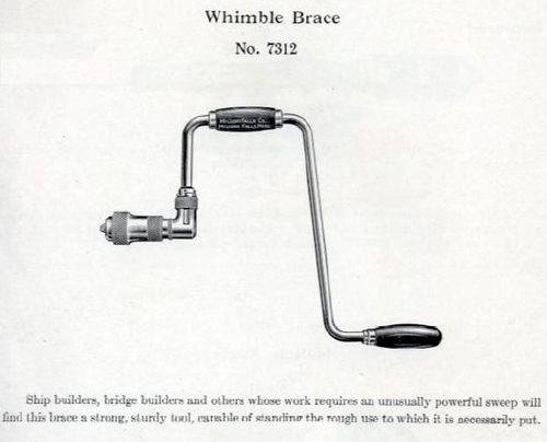 Whimble brace