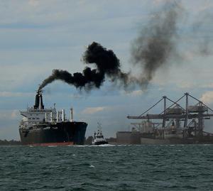 Luchtvervuiling schepen