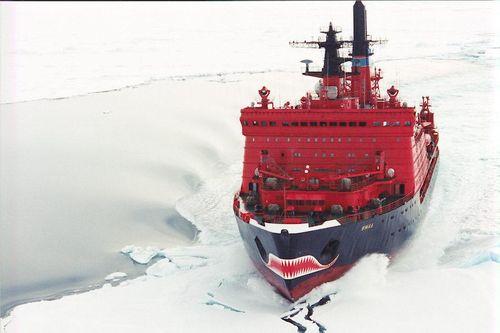 Russische ijsbreker yamal 2