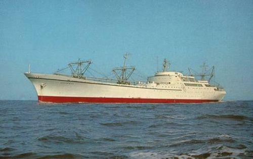 Nucleaire vrachtschip NS Savannah