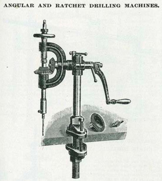 hand powered drilling tools and machines low tech magazine