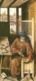 Painting 15th century brace