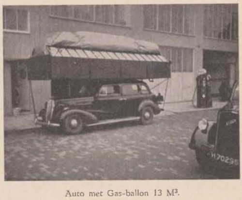 Dutch gas bag automobile