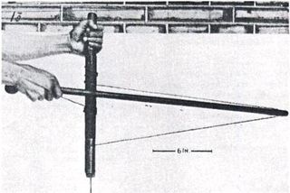 The bow drill in use hommel