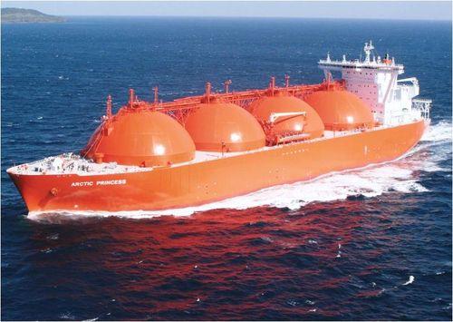 LNG tanker vloeibaar gas